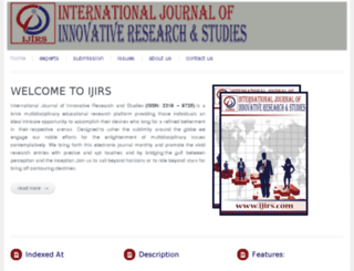 ijirs.com screenshot