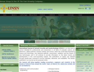 ijnsn.org screenshot