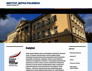 ijp.uw.edu.pl screenshot