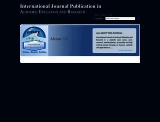 ijpaer.com screenshot