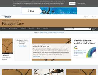 ijrl.oxfordjournals.org screenshot