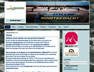 ijsclubnooitgedacht.nl screenshot