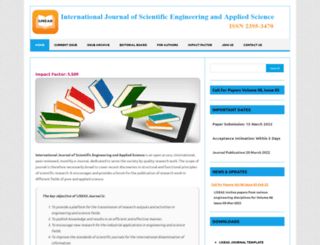 ijseas.com screenshot