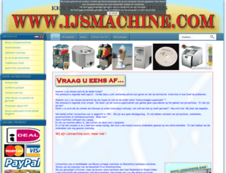 ijsmachine.com screenshot