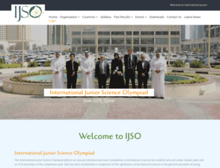ijsoweb.org screenshot