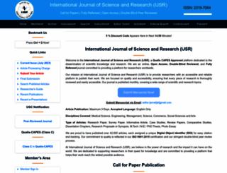 ijsr.net screenshot
