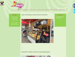 ijssalonroberto.nl screenshot