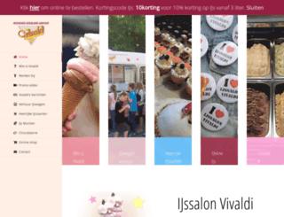 ijssalonvivaldi.nl screenshot