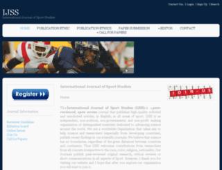 ijssjournal.com screenshot