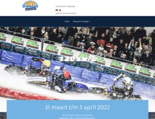 ijsspeedway-assen.nl screenshot