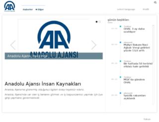 ik.aa.com.tr screenshot