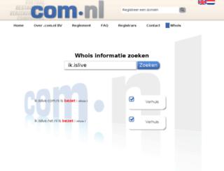 ik.islive.com.nl screenshot