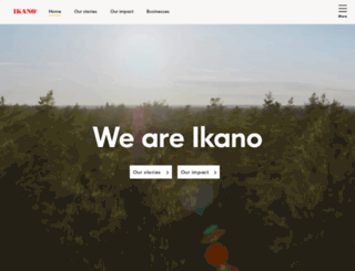ikanogroup.com screenshot