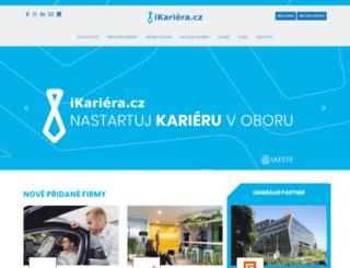 ikariera.cz screenshot