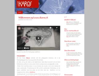ikaros.ch screenshot