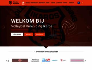 ikaros.nl screenshot