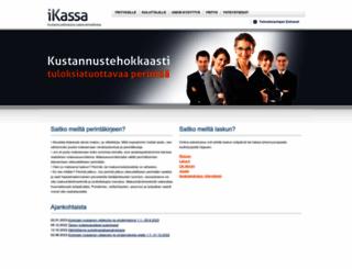 ikassa.fi screenshot