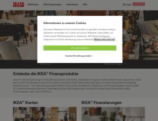 ikea-finanzprodukte.de screenshot