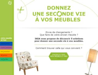ikea-seconde-vie-des-meubles.fr screenshot