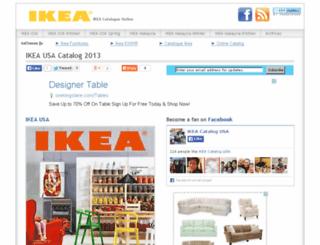 ikeacatalogueonline.com screenshot