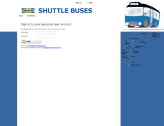 ikeashuttlebus.se screenshot