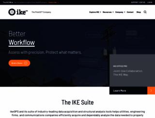 ikegps.com screenshot