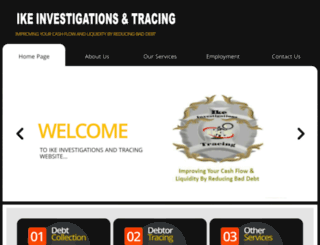ikeinvestigations.co.za screenshot