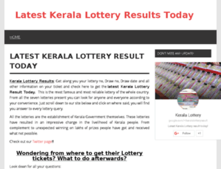 ikeralalotteryresult.com screenshot