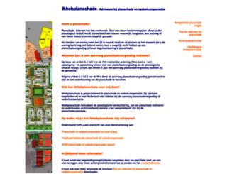 ikhebplanschade.nl screenshot