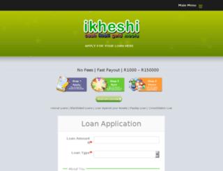 ikheshi.co.za screenshot