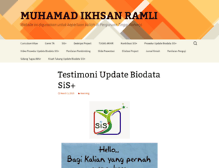 ikhsan.ilearning.me screenshot