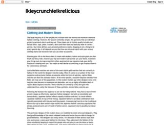ikieycrunchieikrelicious.blogspot.com screenshot