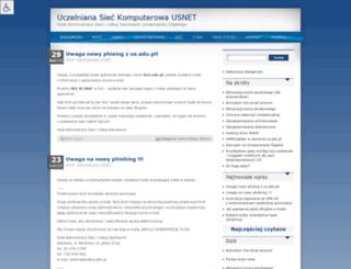 ikila.us.edu.pl screenshot