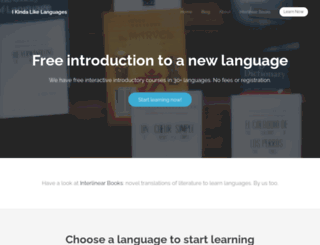 ikindalikelanguages.com screenshot