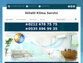 ikitelliklimaservisi.net screenshot