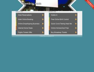iklanbig.com screenshot