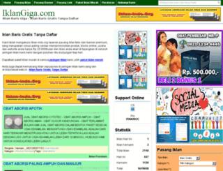 iklangiga.com screenshot