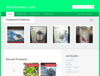 iklanhewan.com screenshot