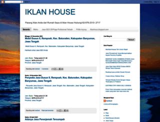 iklanhous.blogspot.com screenshot