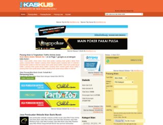 iklankaskus.com screenshot