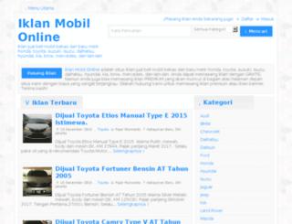 iklanmobilonline.com screenshot
