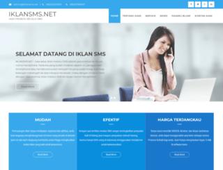 iklansms.net screenshot
