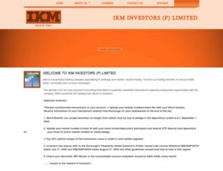 ikminvestor.com screenshot