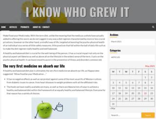 iknowwhogrewit.org screenshot