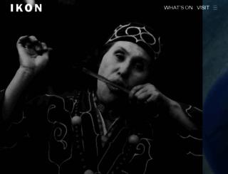 ikon-gallery.co.uk screenshot