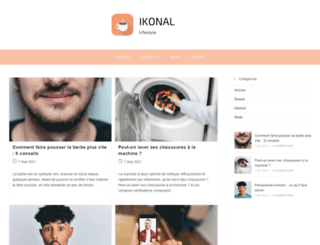 ikonal.com screenshot