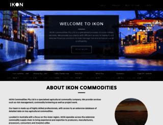 ikoncommodities.com.au screenshot