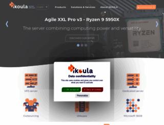 ikoula.co.uk screenshot