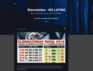 ikslatino.blogspot.com screenshot