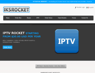 iksrocket.tv screenshot